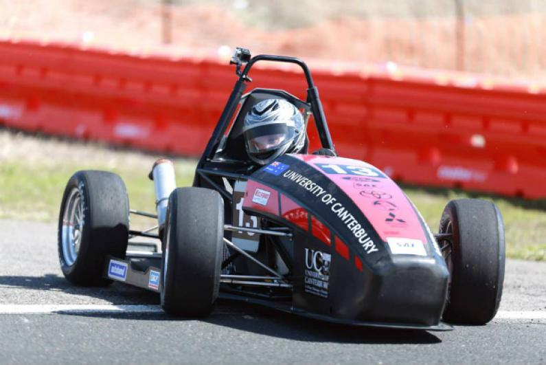 University of Canterbury race car 2